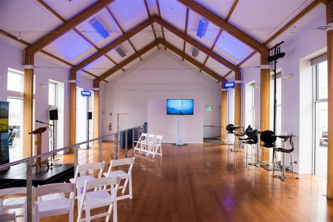 Waterside Pavilion City Of Hobart Tasmania Australia