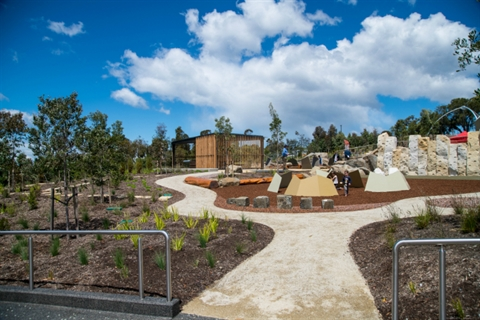 Community Hub on the Queens Domain playscape.jpg