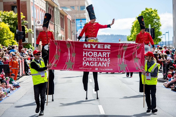 2017 Myer Hobart Christmas Pageant - City of Hobart, Tasmania ...