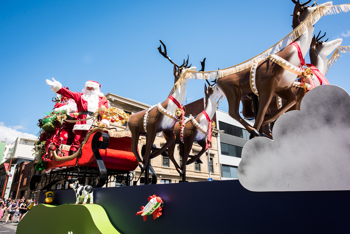 Myer 2018 Hobart Christmas Pageant