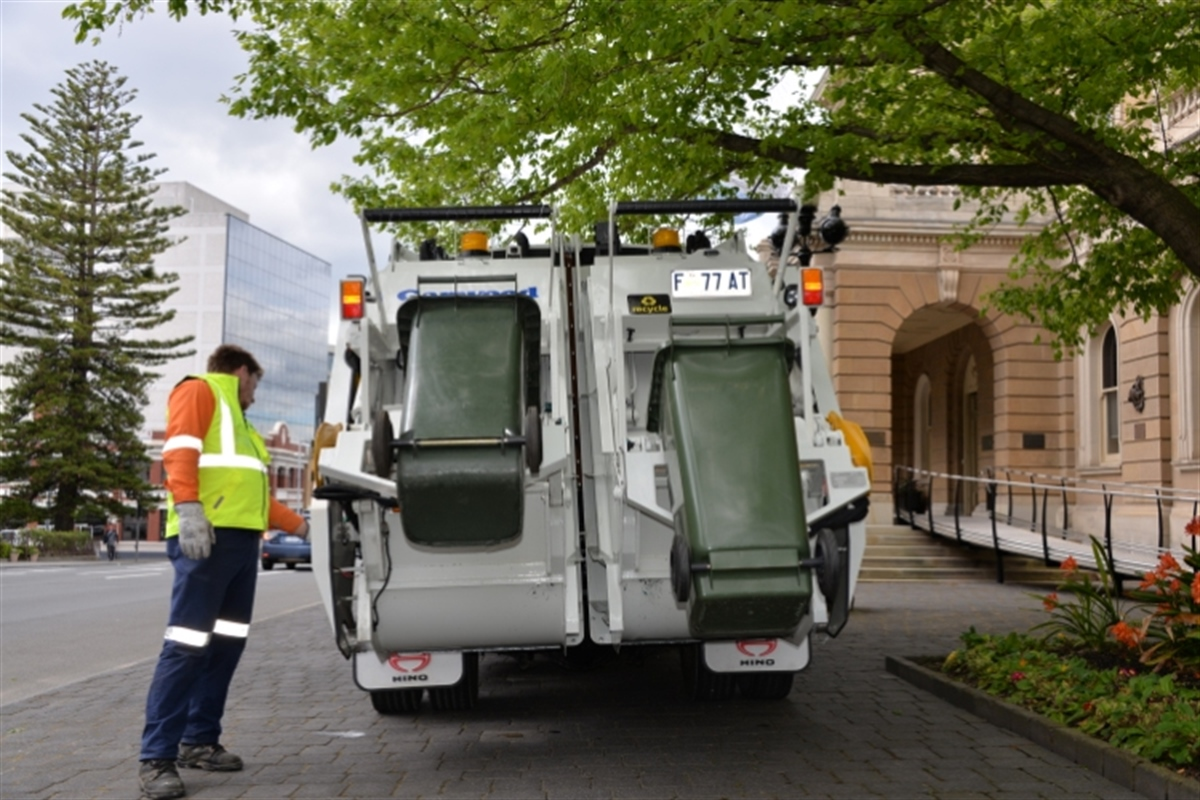 Hobart City Council Recycling