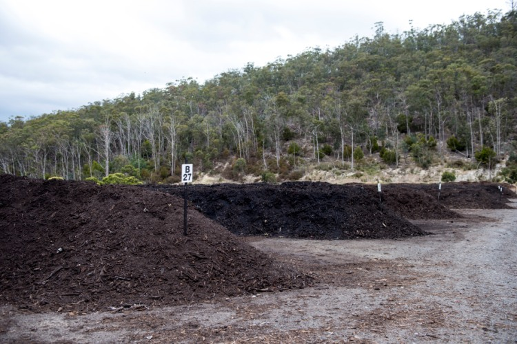 Compost And Mulch City Of Hobart Tasmania Australia
