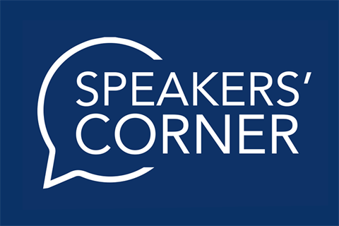 Speakers Corner logo